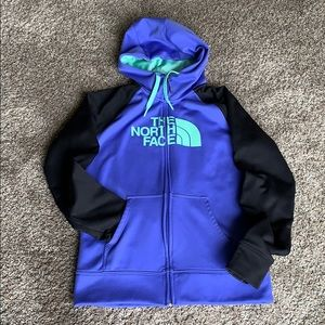 Like new! Under armor zip up hoodie small